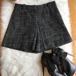 Taikonhu Anthropologie 2 Black White Tweed Skort
